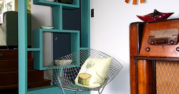 Diy room divider meubles relooking faire pinterest turquoise style r tro et for Reproduction meuble design