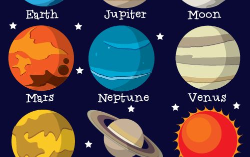 the 9 planets clip art - photo #7