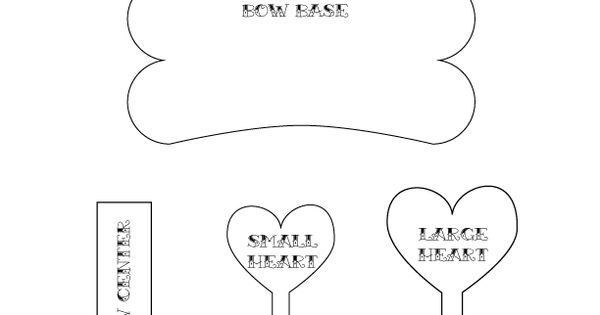 Felt bow tie template 28 images best photos of felt bow ties felt bow tie template printable bow tie pattern template baby pronofoot35fo Gallery