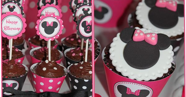 Quinn's Minnie Mouse 2nd birthday Party! | CatchMyParty.com