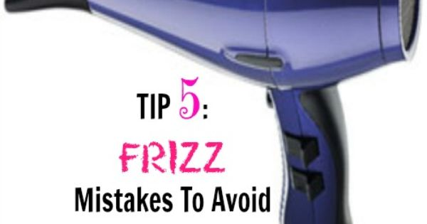 how to avoid hair frizz