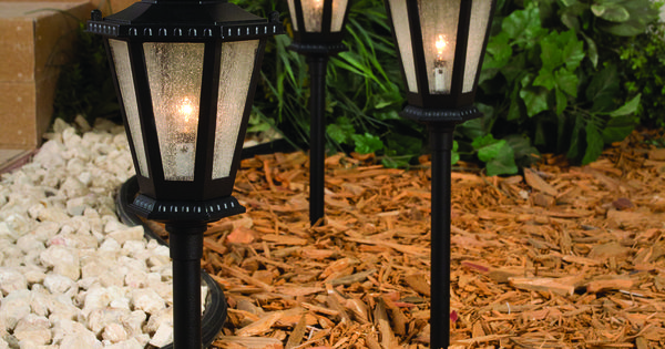 These Path Lights Make The Perfect Accent To Your Walkway Http Www Menards Com Main