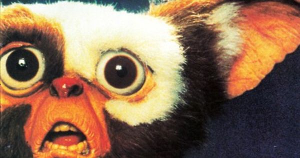 Gremlins! actually this movie scared me as a child but. I associate