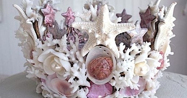 She Sells Sea Shells | Sea star mermaid crown