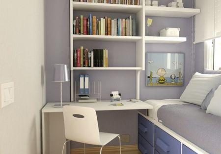 Opendeco habitacion juvenil poco espacio decoracion 12 - Iluminacion habitacion juvenil ...