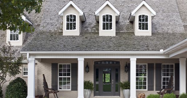 painted brick sherwin williams black fox door shutters painted brick pinterest sherwin. Black Bedroom Furniture Sets. Home Design Ideas