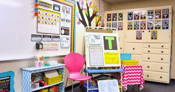Cute Calendar Circle Time Area In A Kindergarten Classroom