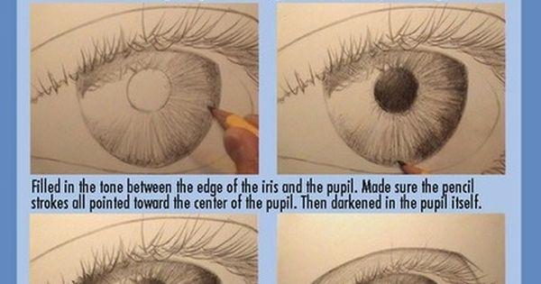 Photorealism tutorial - eye (drawing eyes)