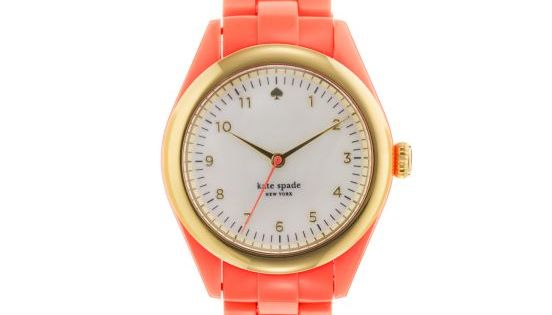 #Coral Kate Spade watch jewels and baubles 2dayslook new style stylefashion www.2dayslook.com