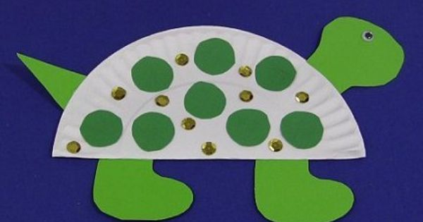 Paper plate turtle arts crafts for kids pinterest for Turtle arts and crafts