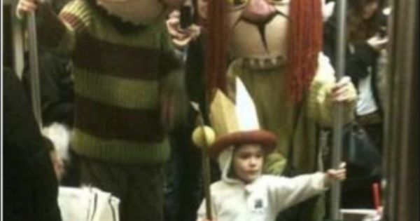 Parenting win - The Wild Things Are On The Subway