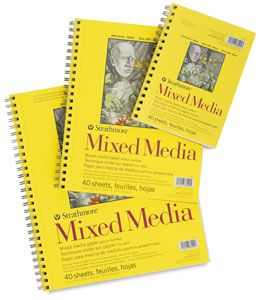 Canson Xl Series Mix Media Pad Strathmore 300 Series Mixed Media Pads Sketchbook Journaling