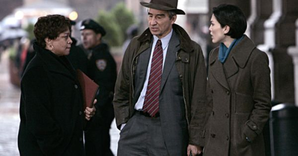 S Epatha Merkerson Sam Waterston And Alana De La Garza On Law
