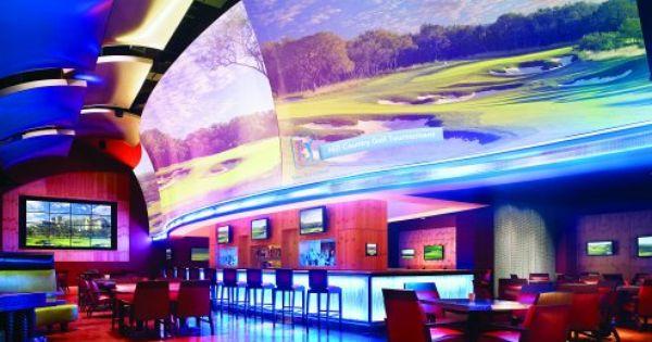 High Velocity Sports Bar At Jw Marriott San Antonio Jwsanantonio Luxury Sportsbar Hotel Jw Marriott San Antonio Hill Country Resort Interior Design Usa