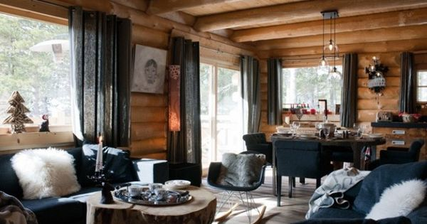 home #homedecor #decoration #chalet #livingroom | Chalet ...
