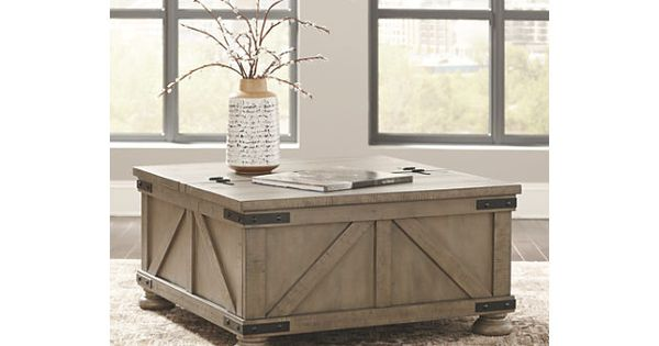 Aldwin Coffee Table With Lift Top Ashley Furniture Homestore