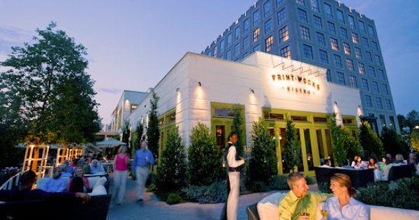 Printworks Bistro Greensboro Nc Proximity Hotel Greensboro Restaurants Greensboro