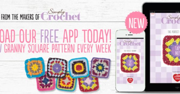 Download Free Crochet Patterns With The New Simply Crochet App