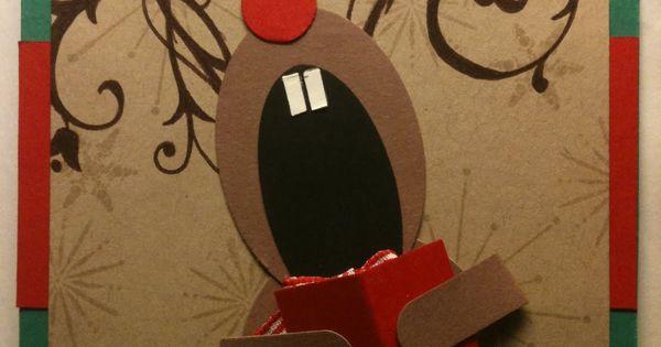 Singing Reindeer - for xmas cards?
