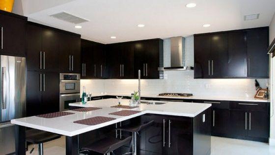 Dise os de modernas cocinas con islas que parecen flotar for Diseno de interiores que hace