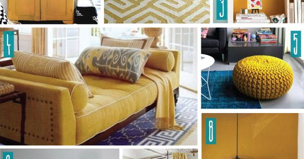 Color Series Decorating With Mustard A Shade Of Teal