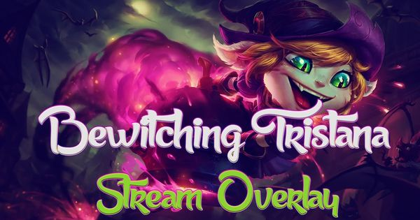 Bewitching Morgana stream overlay (Halloween League of Legends ...