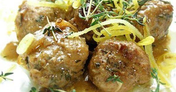 Pork and Sage Meatballs | Recipe | Pork Meatballs, Pork and Lemon