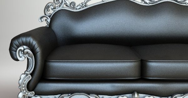 Leather And Metal Sofa Steam Punk Is Not My Style But