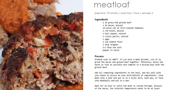 Bacon meatloaf, Fire and Bacon on Pinterest