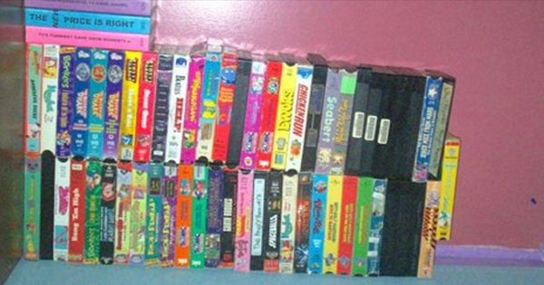 she almost threw away all her old vhs tapes then she found some very valuable information if. Black Bedroom Furniture Sets. Home Design Ideas