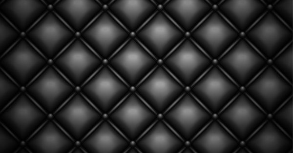 Black Quilted Leather Background Leather Background