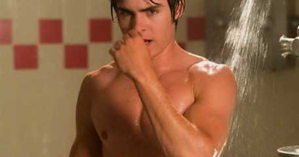 Zac Efron Naked Shower Scene 9