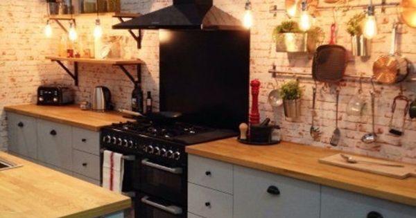rustikale k che mit modernen elementen wende pinterest. Black Bedroom Furniture Sets. Home Design Ideas