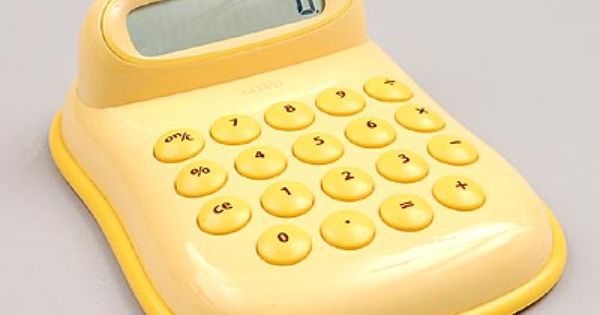 Botterweg Auctions Amsterdam Yellow Abs Plastic Calculator Dauphine Design George Sowden 1997 Executed By Alessi Italy Alessi Art Decor Design