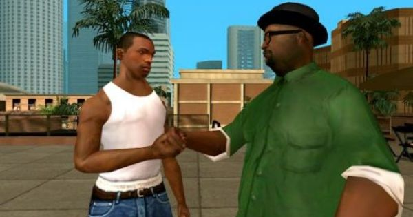 Cj And Big Smoke San Andreas Game San Andreas Grand Theft Auto