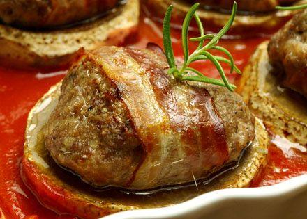 Artichauts farcis la viande hahc e et au lard legumes - Cuisiner les artichauts ...