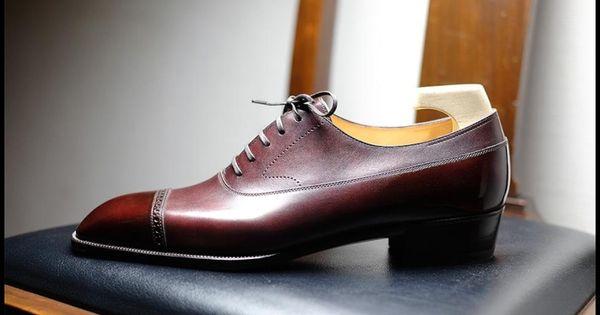 Yohei Fukuda Handmade Luxury Italian Leather Shoes For