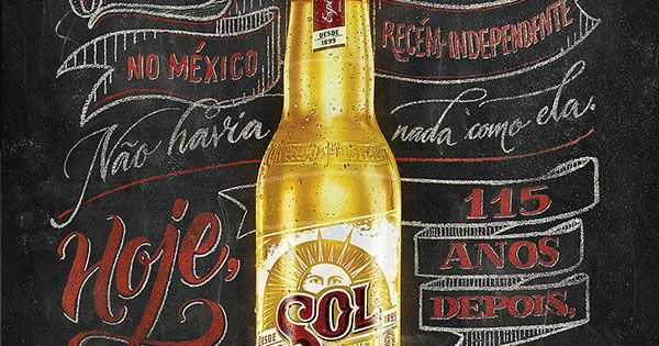 SOL Beer – Chalk and Sign Painting on Behance