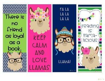 Free Llama Llama Bookmarks By Teaching Clementine Cuties Teachers Pay Teachers Classroom Themes Classroom Birthday Llama