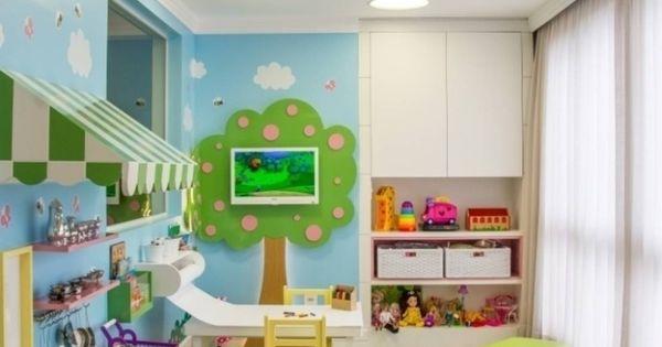 Brinquedoteca dos sonhos sala de estar infantil quarto for Sala de estar infantil