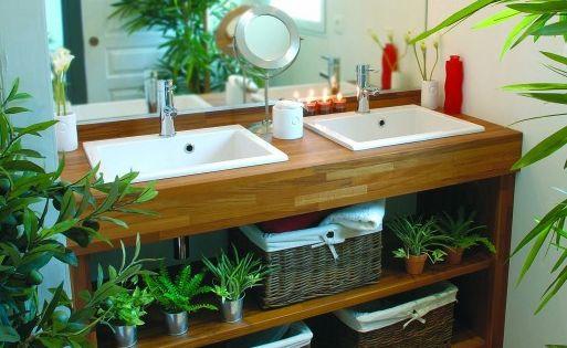 cr er salle de bain exotique salle de bain zen salle. Black Bedroom Furniture Sets. Home Design Ideas