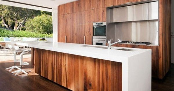 kitchen wooden kitchens bespoke cart cupboard doors floors garbage bin