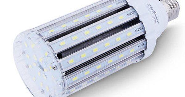 30w Daylight Led Corn Light Bulb For Indoor Outdoor Large Area E26 Socket Home Street Lamp Post Post Lighting Light Bulb