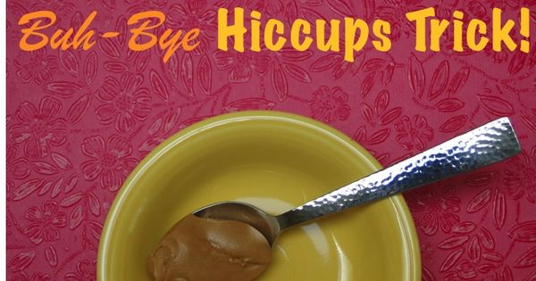 The Quick Get Rid of Hiccups Trick! via TheFrugalGirls.com peanut butter @Sarah