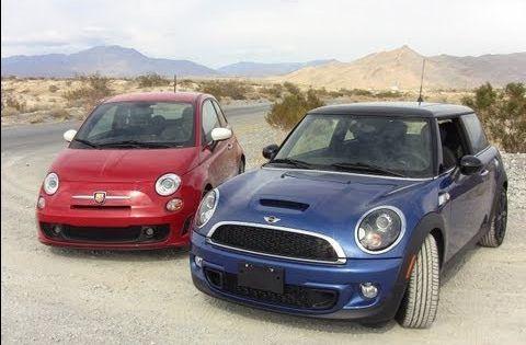 2012 Mini Cooper S Versus Fiat 500 Abarth 0 60 Mph Mashup Review Mini Cooper S Mini Cooper Fiat 500