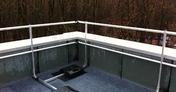 gel nder f r den dach balkon ohne dachdurchdringung http. Black Bedroom Furniture Sets. Home Design Ideas