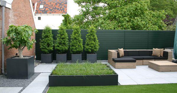 Rodenburg tuinen modern dakterras in utrecht met for Beeld tuin modern