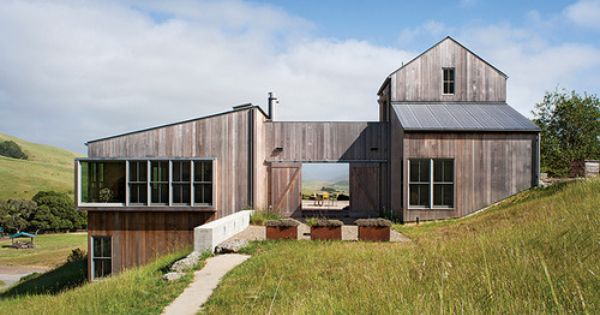 West Marin Residence Turnbull Griffin Haesloop Architects With Images Modern Ranch Architecture