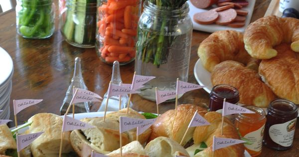 Paris Party Food A French Themed Menu Great Ideas Of What