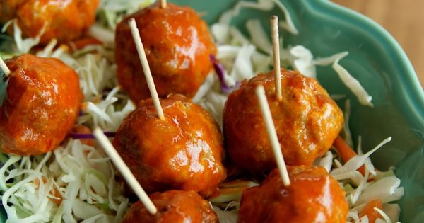 : Buffalo Style Turkey Meatballs | Meal prep | Pinterest | Turkey ...